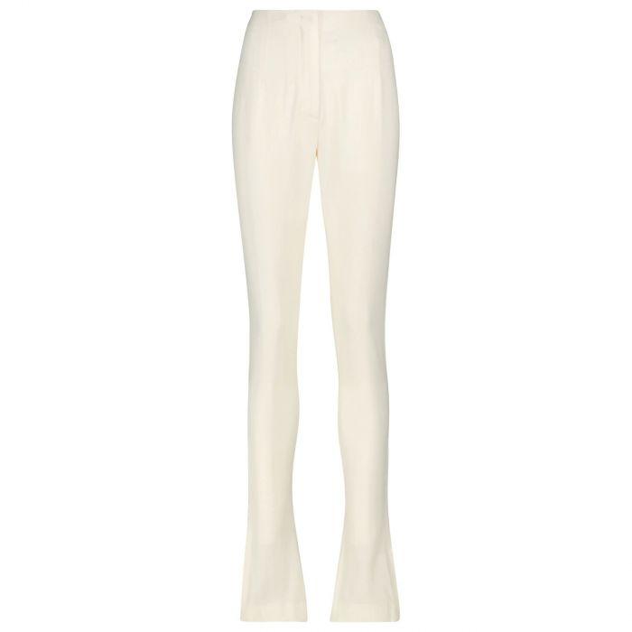 Леггинсы Jacquemus Le pantalon Obiou белые