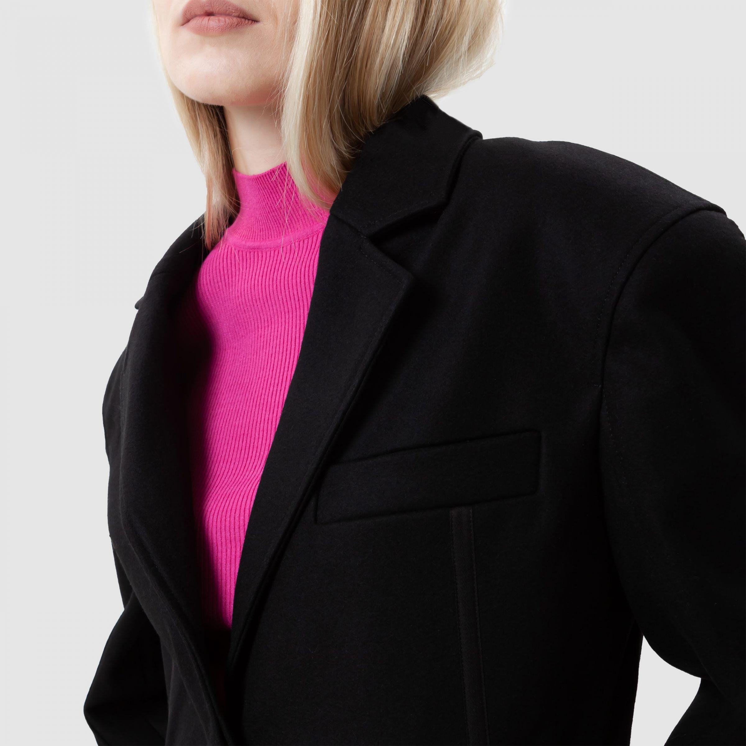 Пальто Jacquemus Le Manteau Soco черное