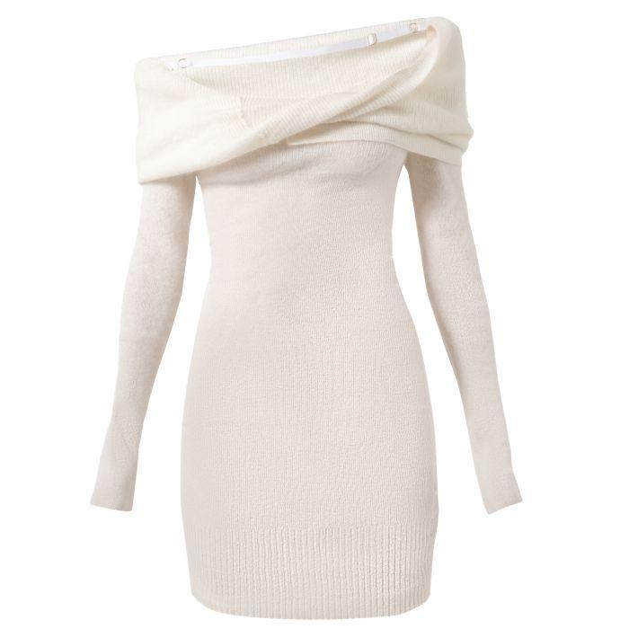 Платье Jacquemus белое