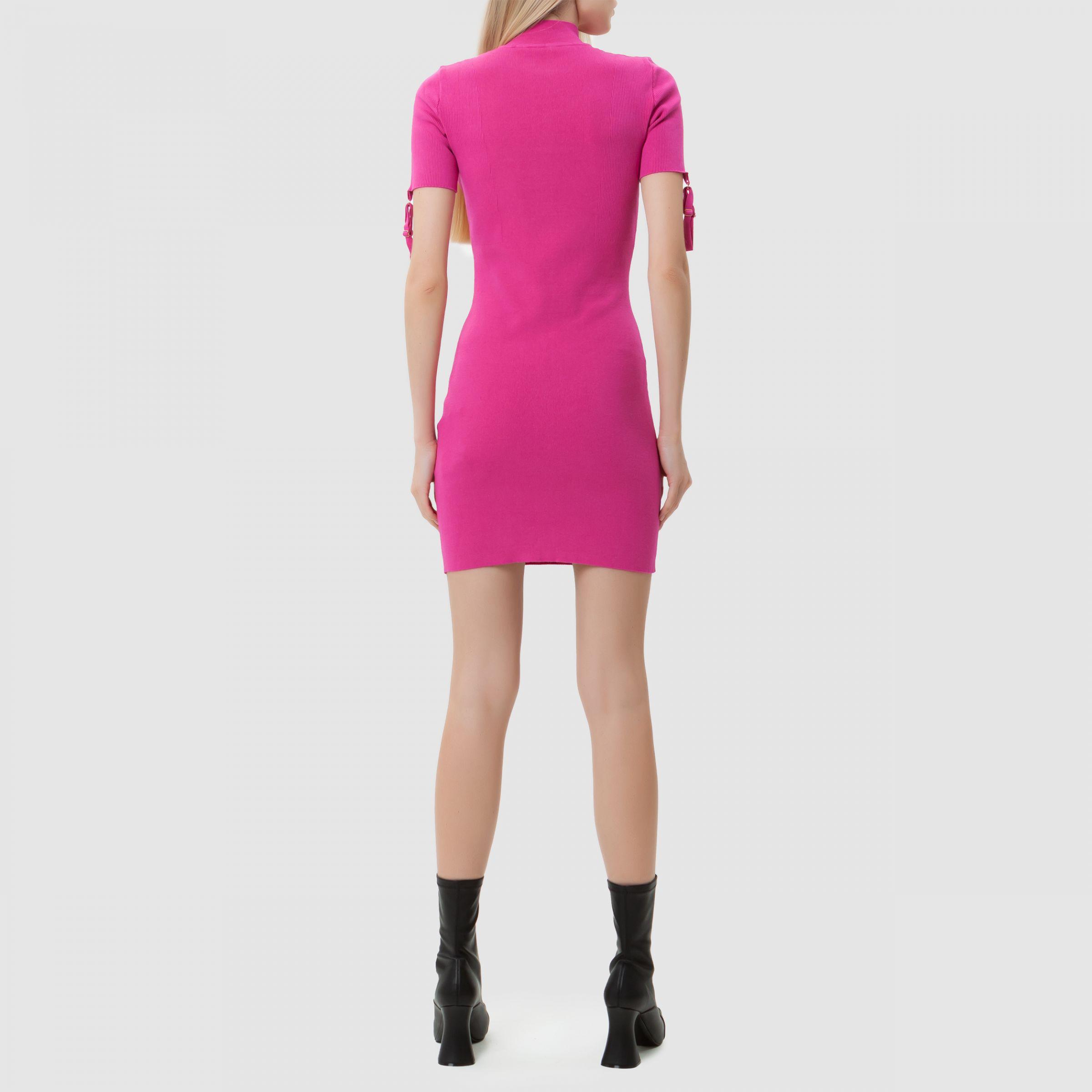 Платье Jacquemus La robe Torre розовое