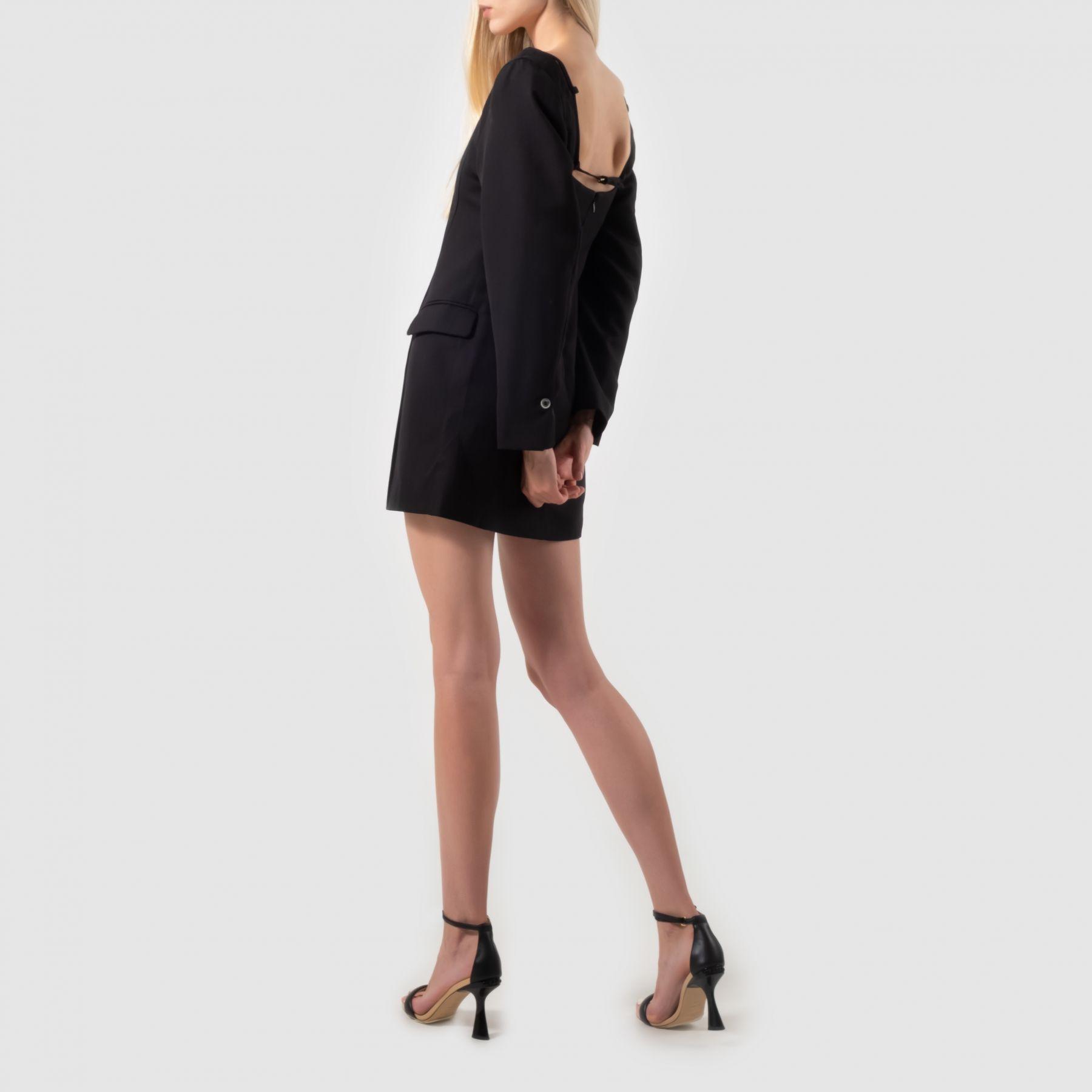 Платье Jacquemus черное