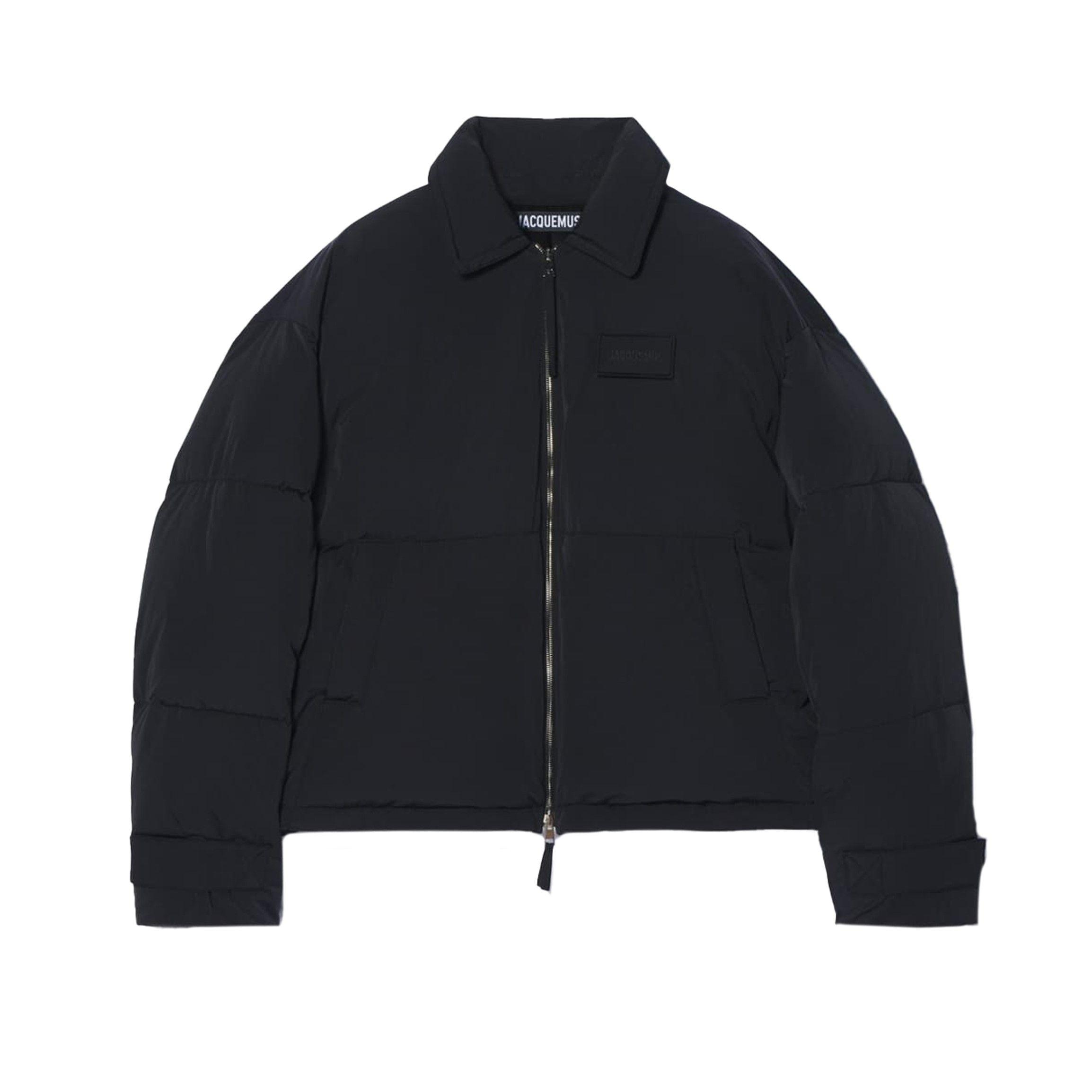 Куртка Jacquemus La doudoune Flocon черная