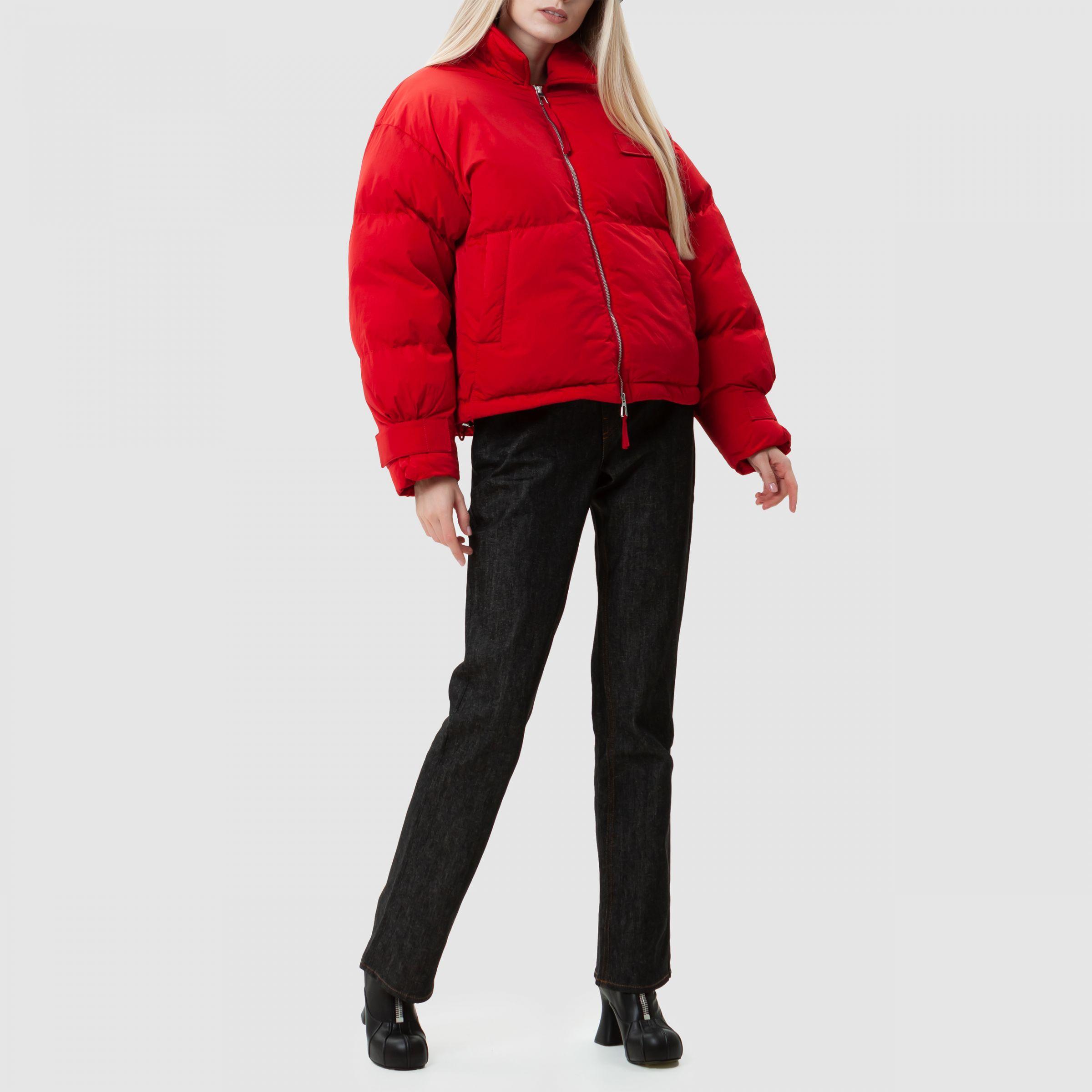 Куртка Jacquemus La doudoune Flocon красная