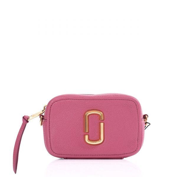 Сумка Marc Jacobs THE SOFTSHOT 17 розовая
