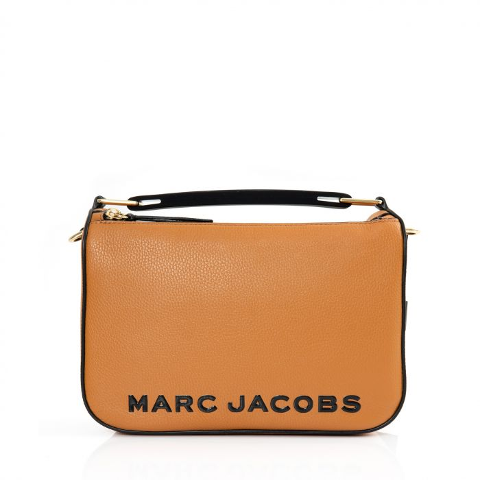 Сумка Marc Jacobs THE SOFTBOX оранжевая