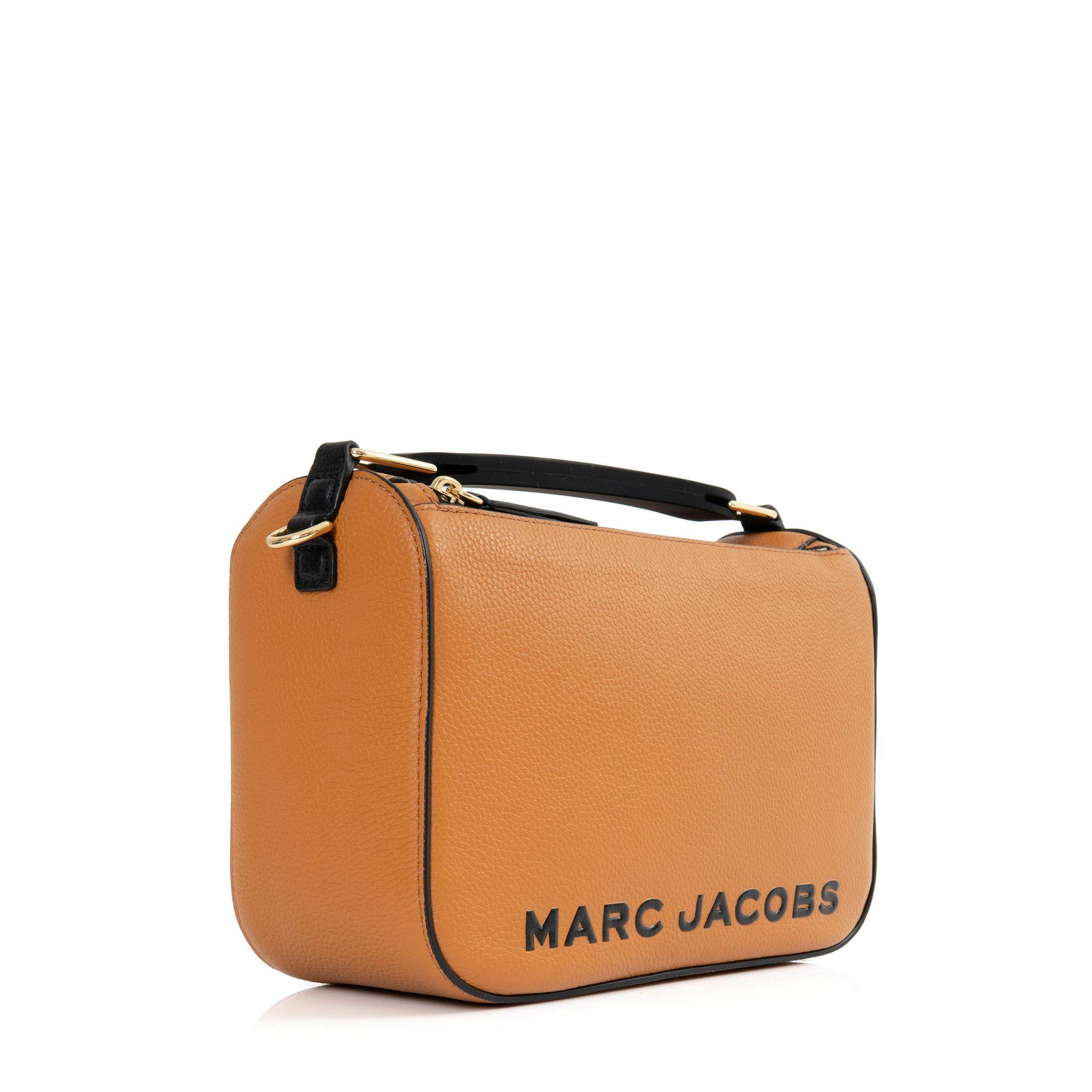 Сумка Marc Jacobs THE SOFTBOX оранжевая