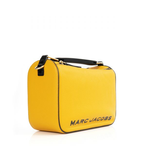 Сумка Marc Jacobs THE SOFTBOX желтая