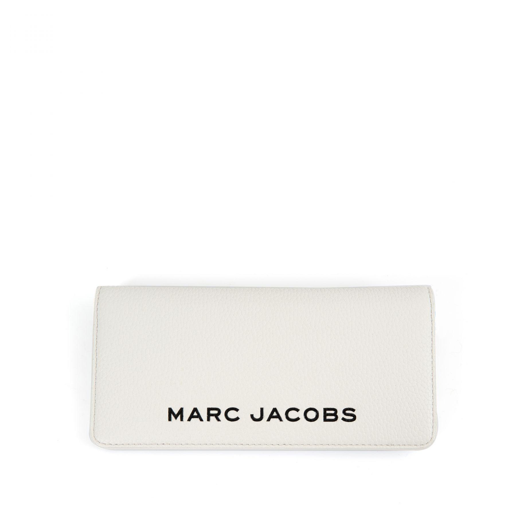 Портмоне Marc Jacobs THE COLORBLOCK OPEN FACE белое