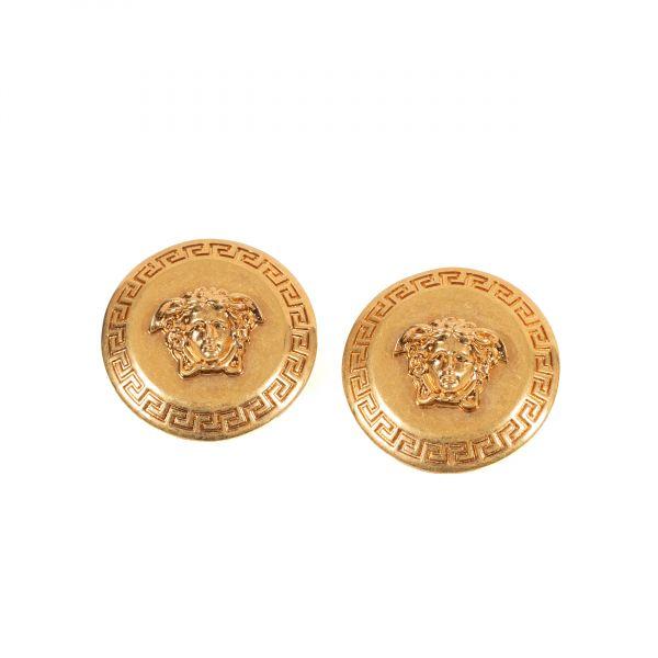 Серьги, клипсы Versace TRIBUTE золотые