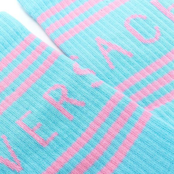 Носки Versace голубые