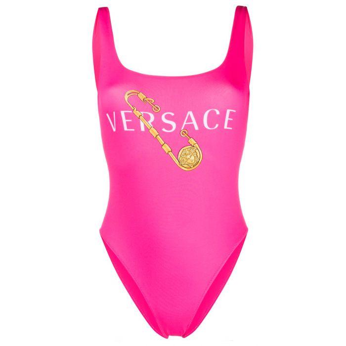 Купальник Versace фуксия
