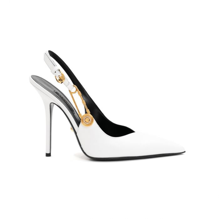 Туфли Versace белые