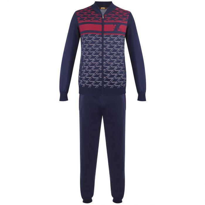 Спортивный костюм Zilli темно-синий
