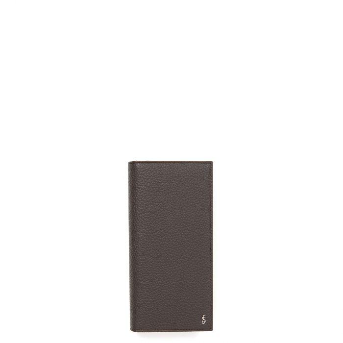 Портмоне Serapian темно-коричневое