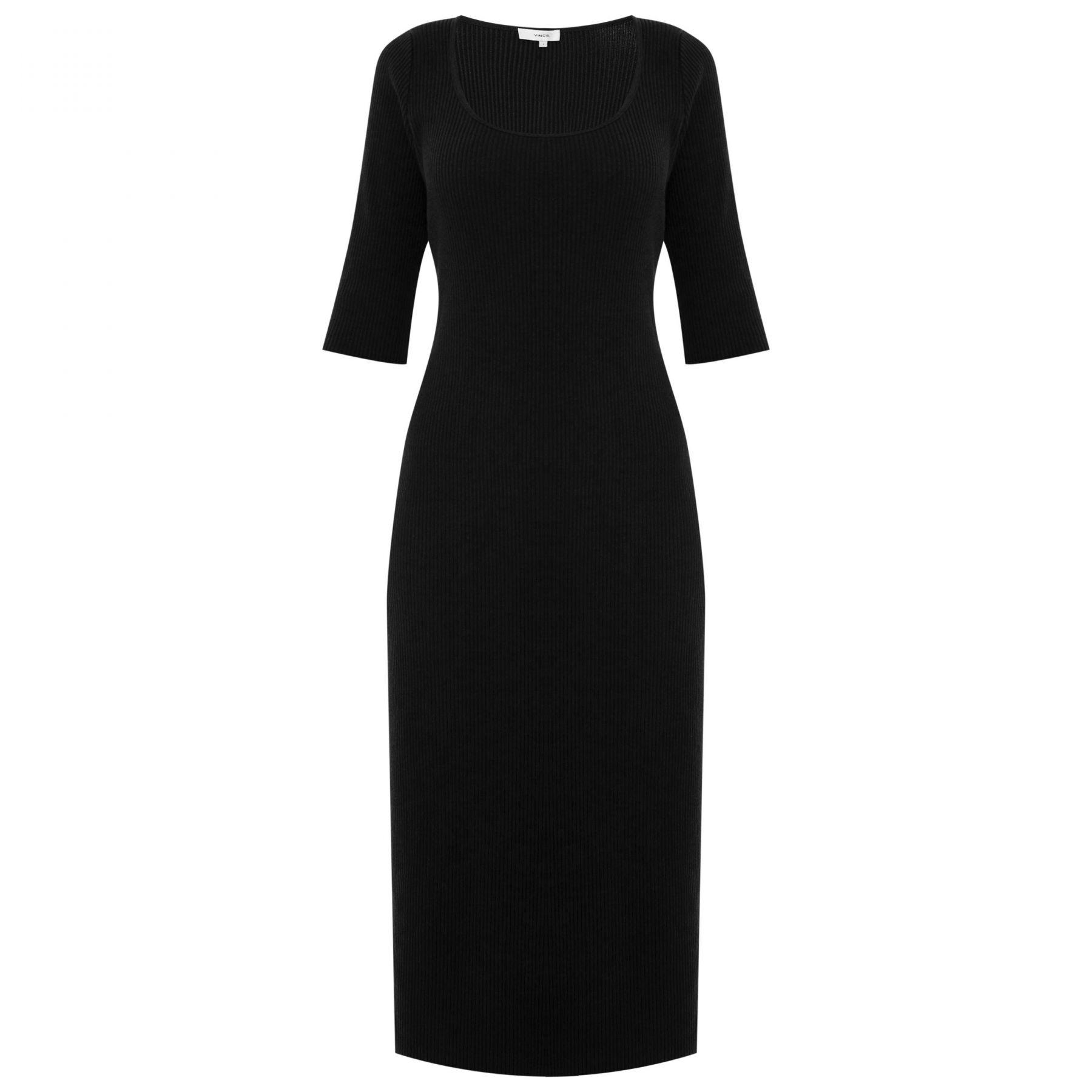 Платье Vince черное