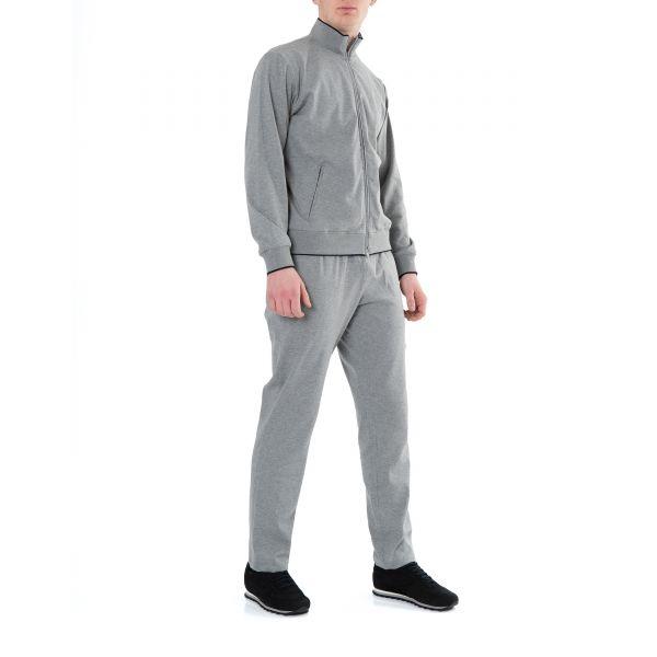 Спортивный костюм Luciano Barbera серый