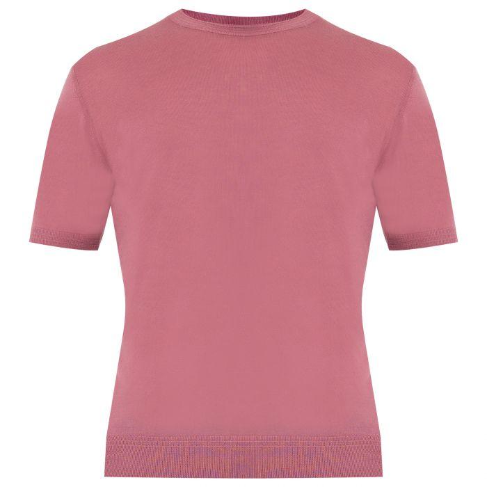 Футболка Luciano Barbera розовая