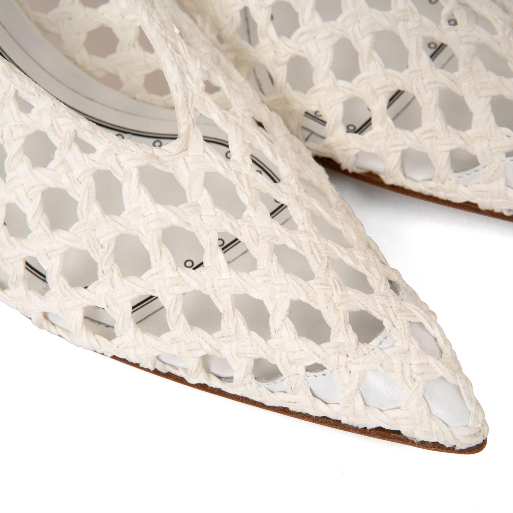 Туфли Casadei Versilia белые