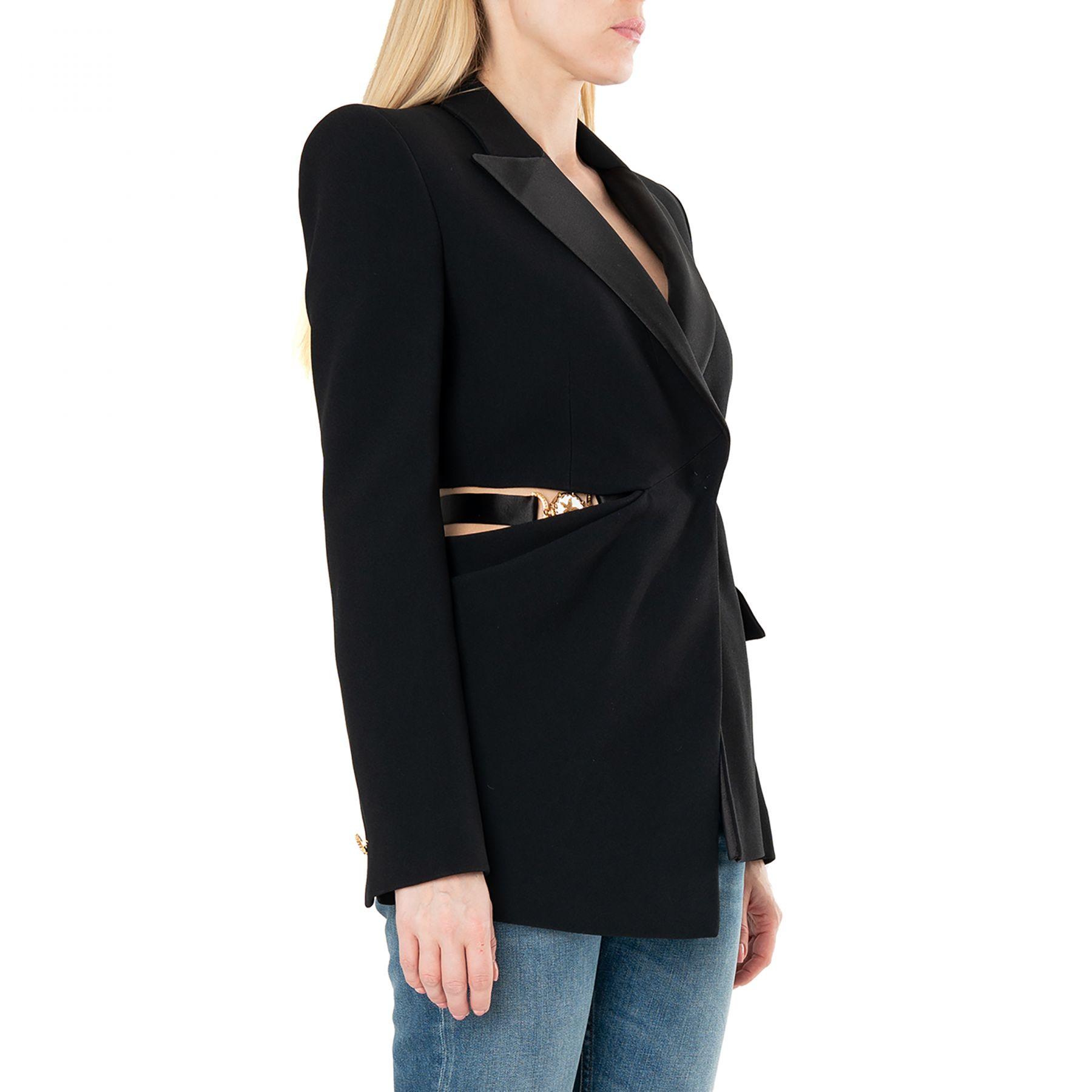 Пиджак Versace черный