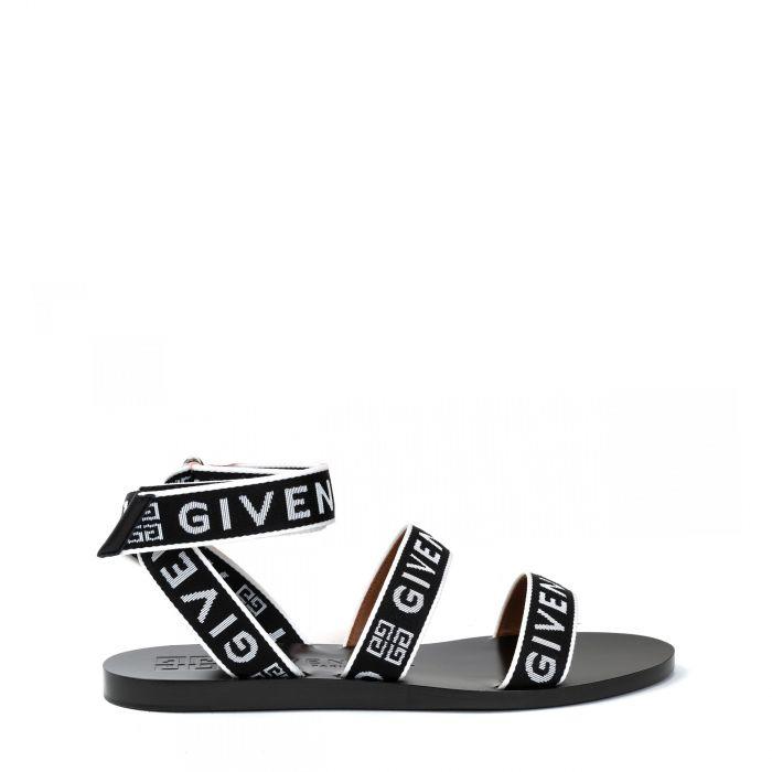 Босоножки Givenchy черно-белые