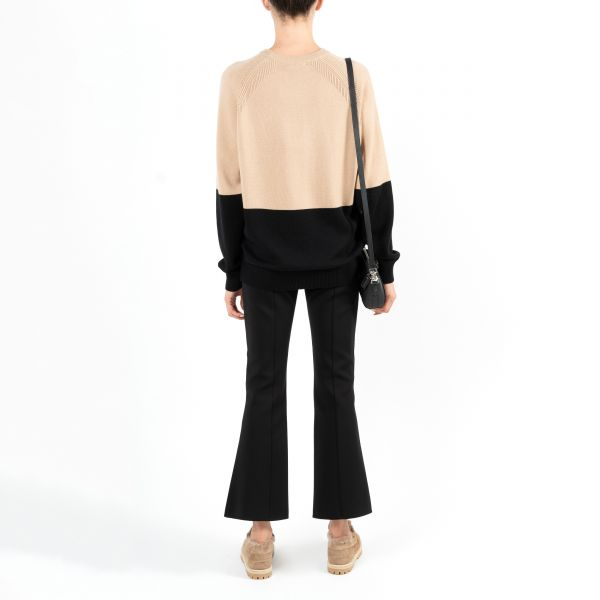 Свитер Givenchy черно-бежевый