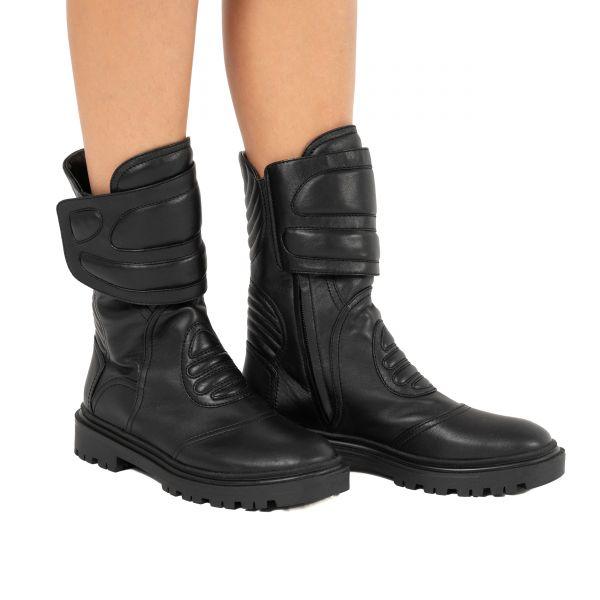 Ботинки Casadei черные