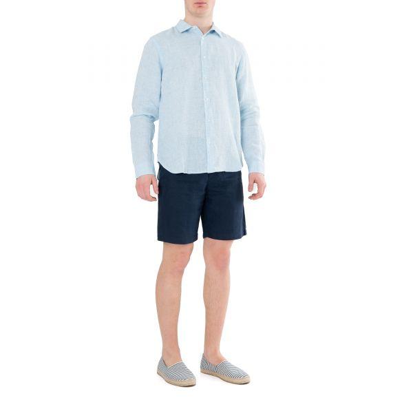 Рубашка длин.рук. Orlebar Brown Giles голубая