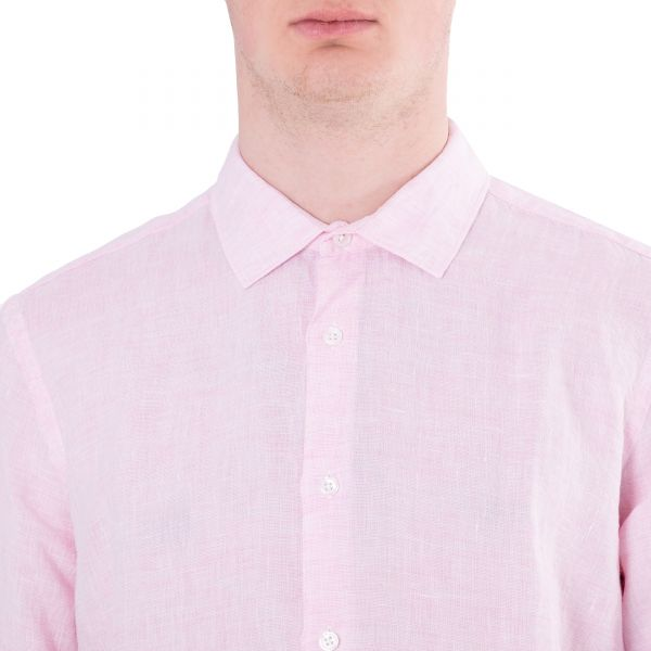 Рубашка длин.рук. Orlebar Brown Giles светло-розовая