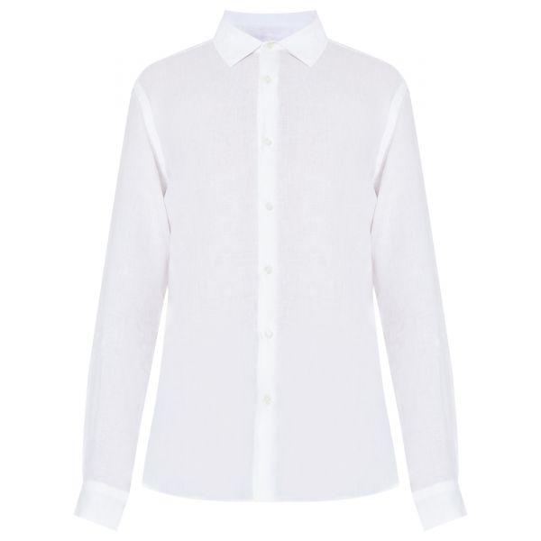 Рубашка с длинными рукавами Orlebar Brown Giles белая