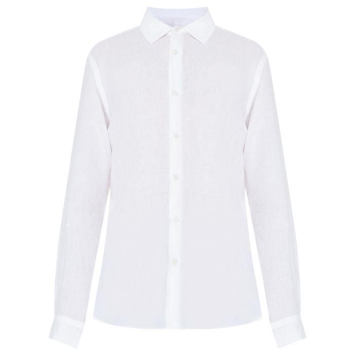 Рубашка длин.рук. Orlebar Brown Giles белая