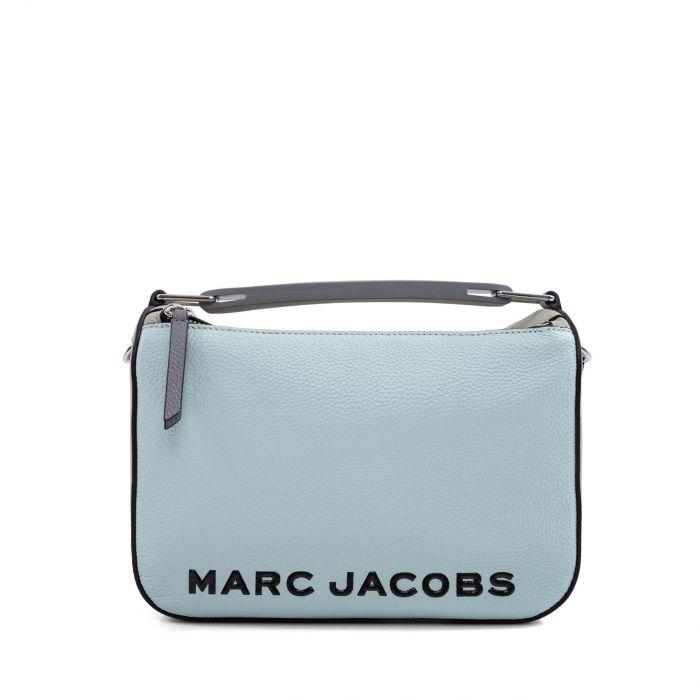 Сумка Marc Jacobs The Colorblock Softbox голубая