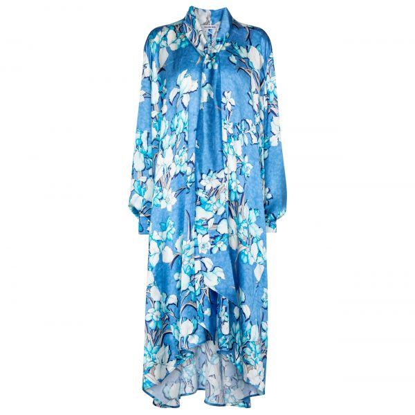 Платье Balenciaga голубое