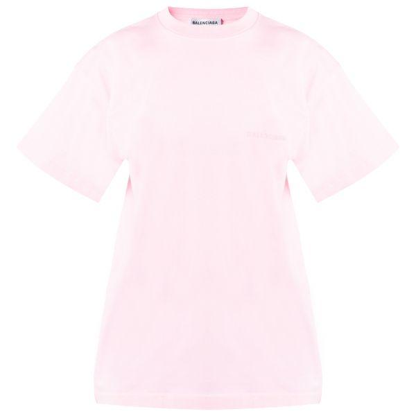Футболка Balenciaga розовая