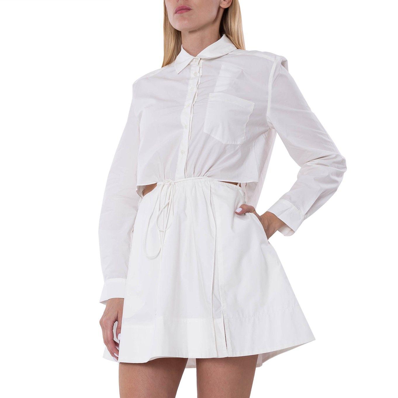 Платье Jonathan Simkhai SHAELYN белое