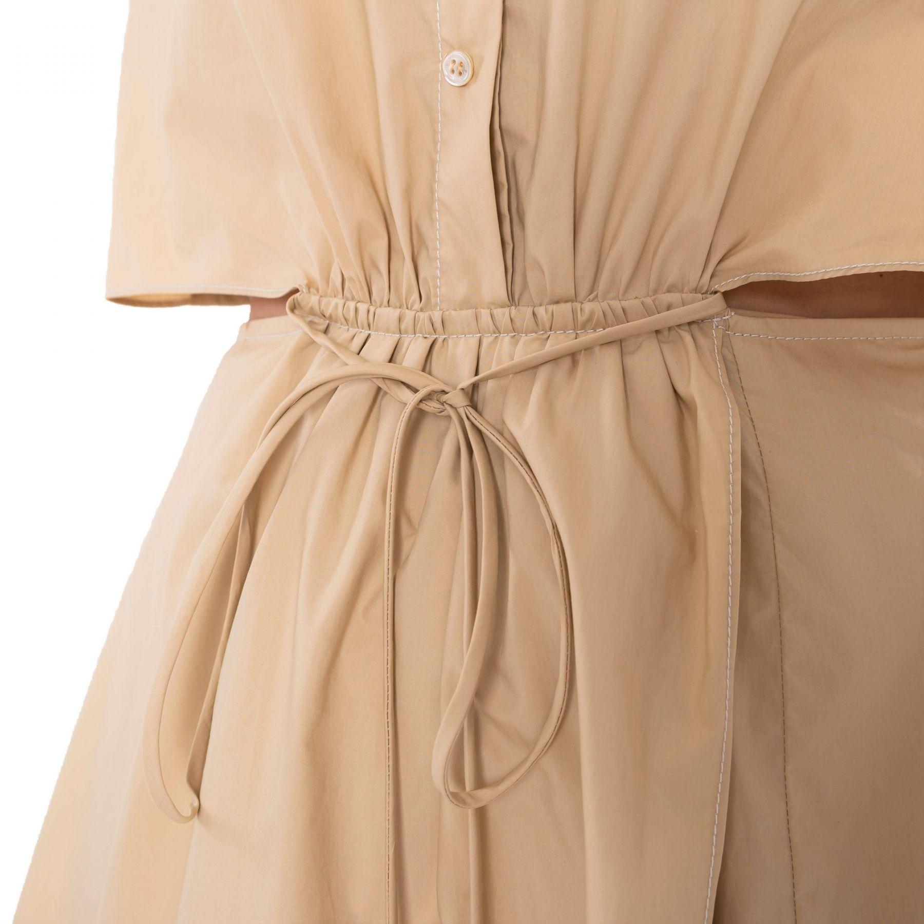 Платье Jonathan Simkhai SHAELYN бежевое