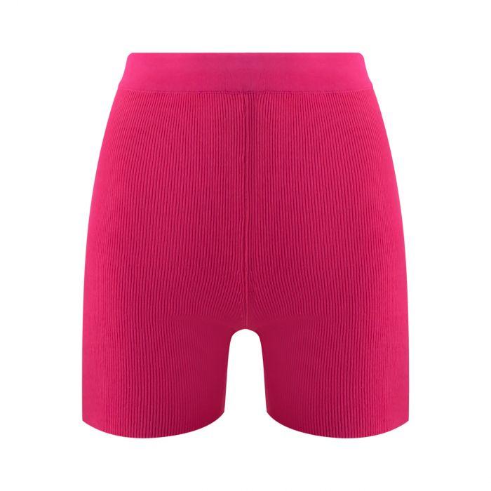 Шорты Jacquemus Le short Arancia розовые