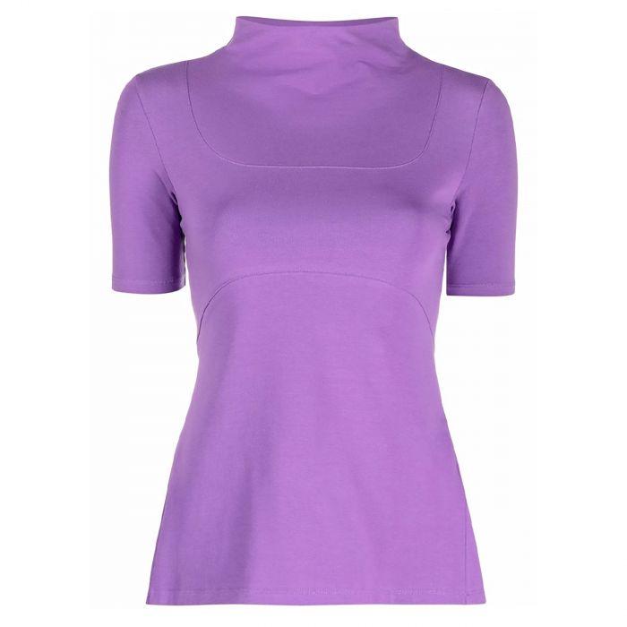 Футболка Jacquemus фиолетовая