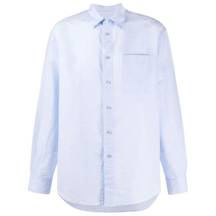 Рубашка с длинными рукавами Kenzo голубая