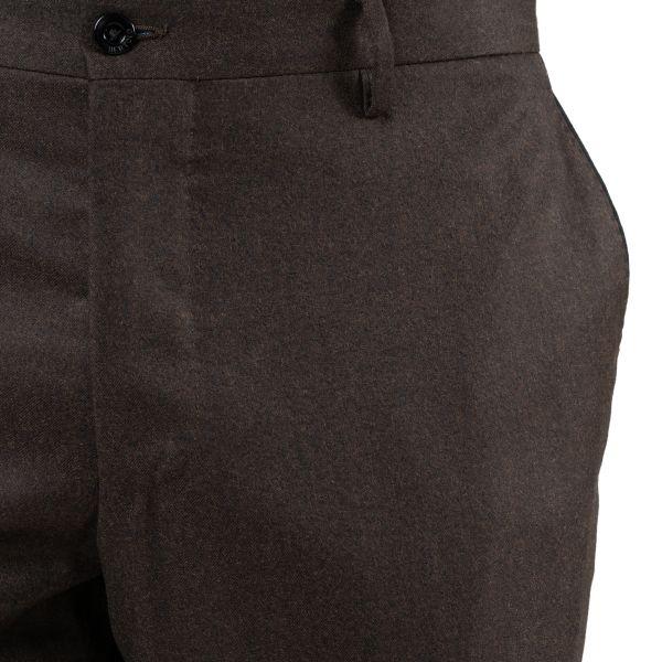 Брюки Bertolo Cashmere коричневые