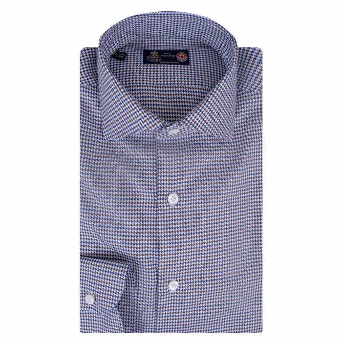 Рубашка с длинными рукавами Luigi Borrelli разноцветная