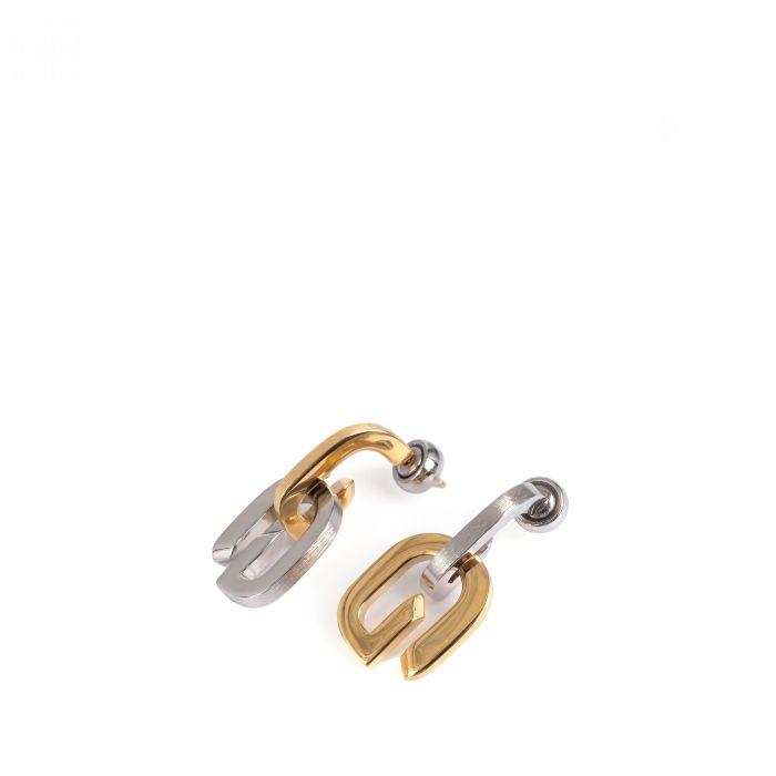 Серьги Givenchy G Link разноцветные