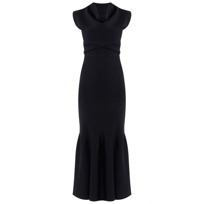 Платье длинное 3.1 Phillip Lim темно-синее