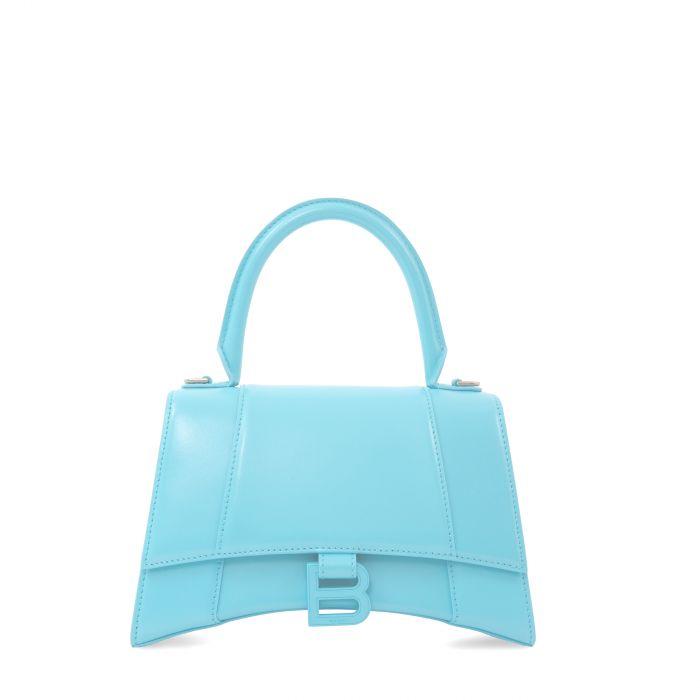 Сумка Balenciaga HOURGLASS голубая