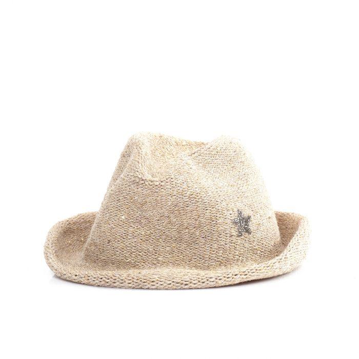 Шляпа Lorena Antoniazzi бежевая
