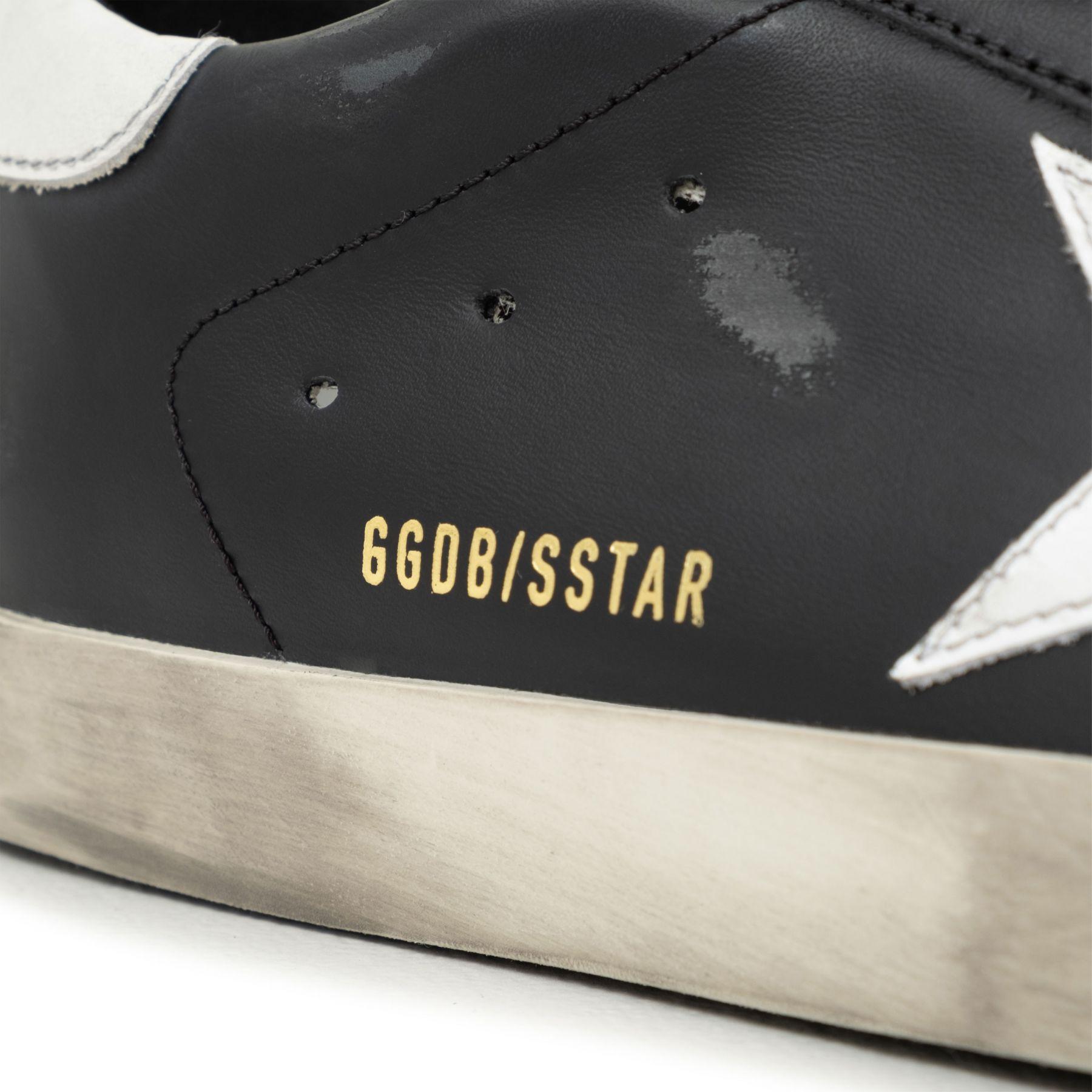 Сникеры Golden Goose Superstar черные