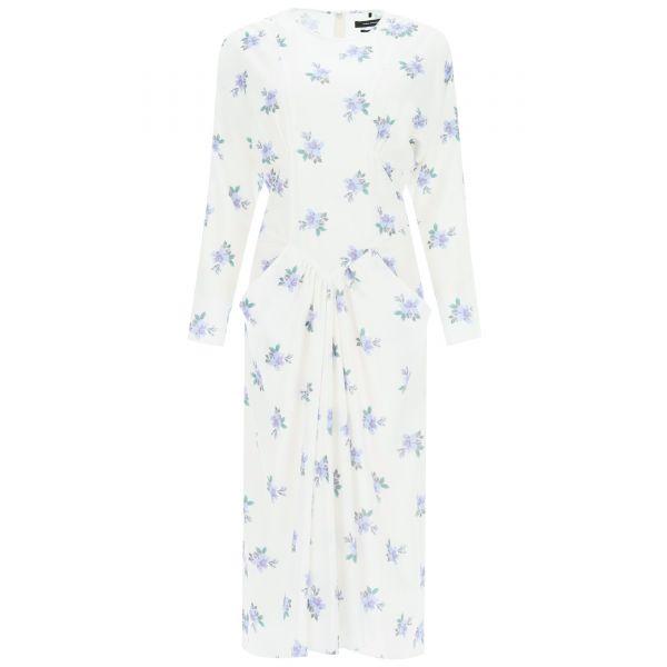 Платье Isabel Marant Bibelky белое