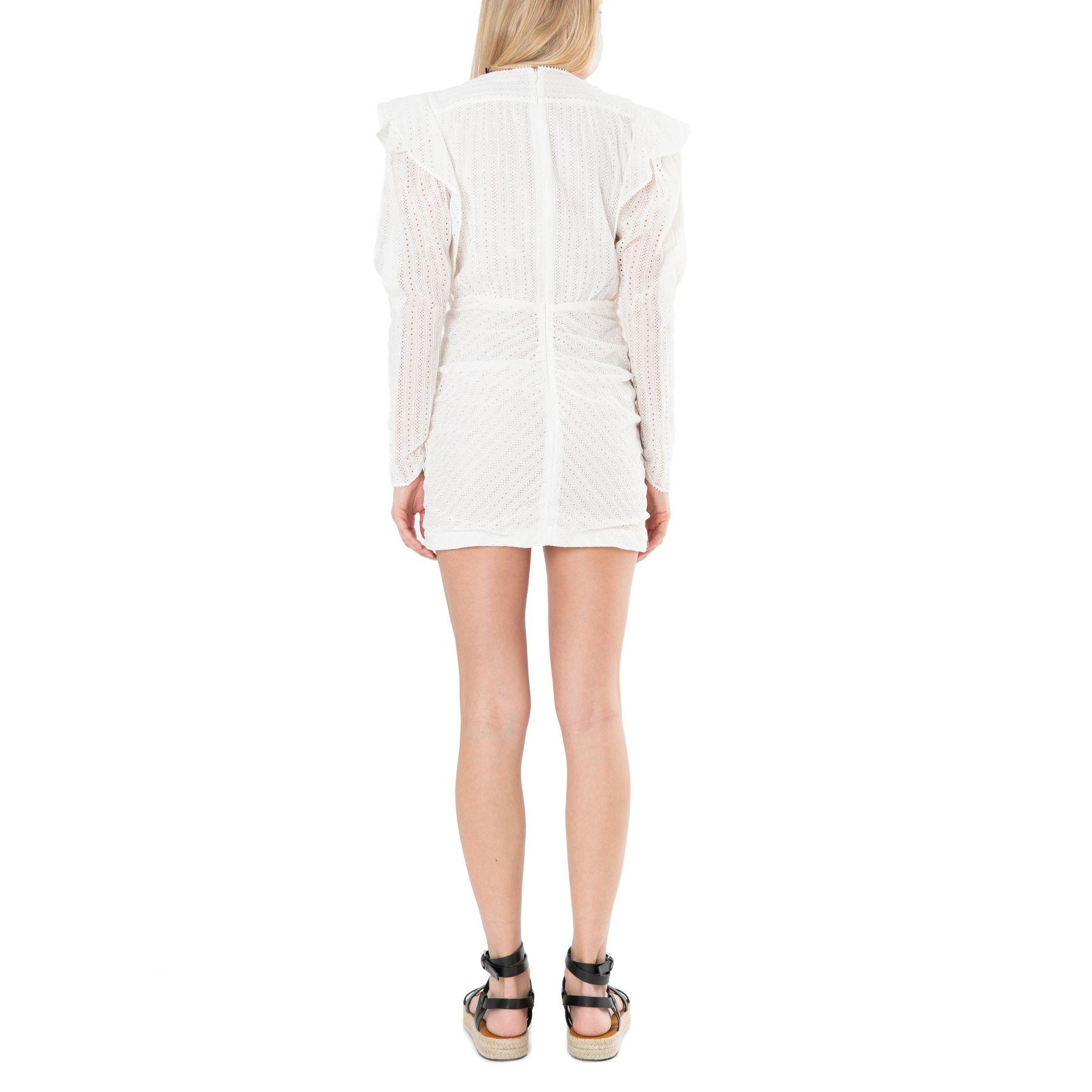 Платье Isabel Marant Getya белое