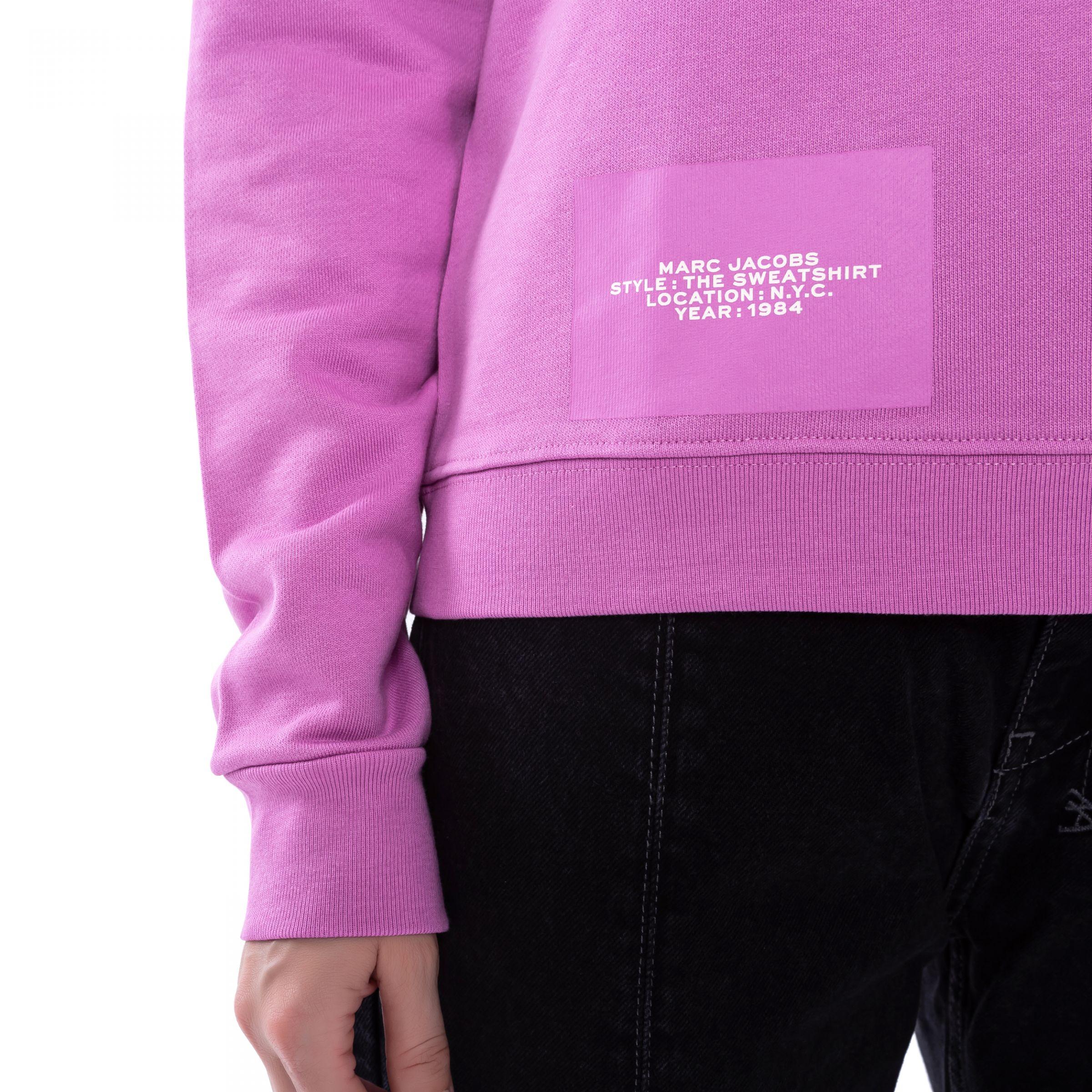 Свитшот Marc Jacobs розовый