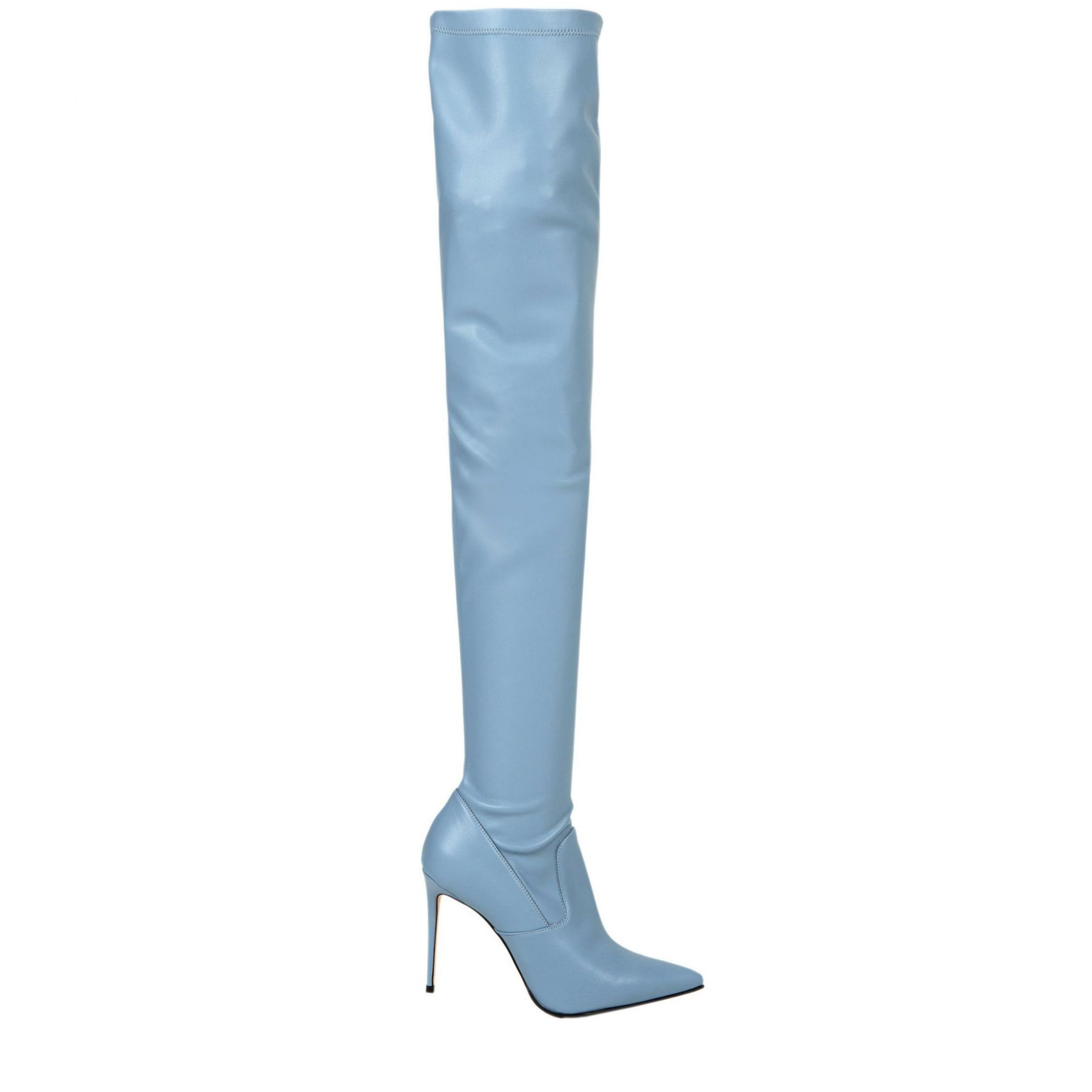 Ботфорты Le Silla Eva голубые