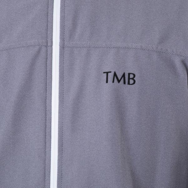 Бомбер Tombolini серый